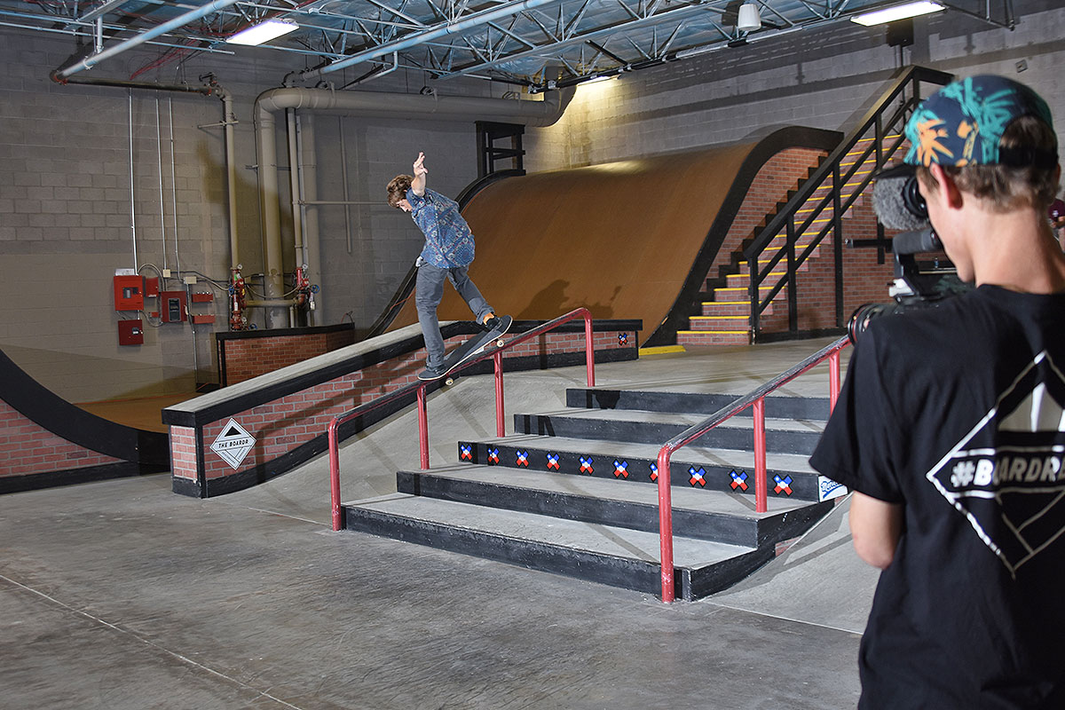 The Boardr Am at Phoenix - Front Crook to 3rd