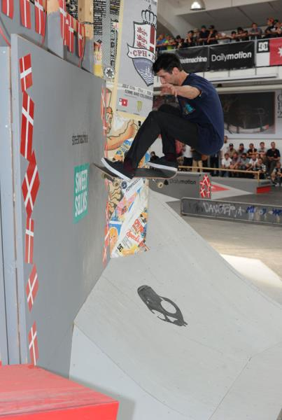 Stefan Janoski - Frontside Wallride Nollie Out