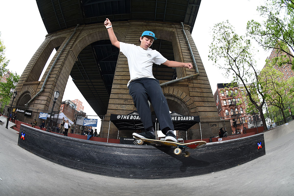 The Boardr Am at NYC - Front Feeble