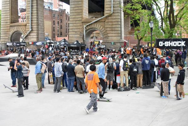 Harold Hunter Day X - Best Trick Crowd