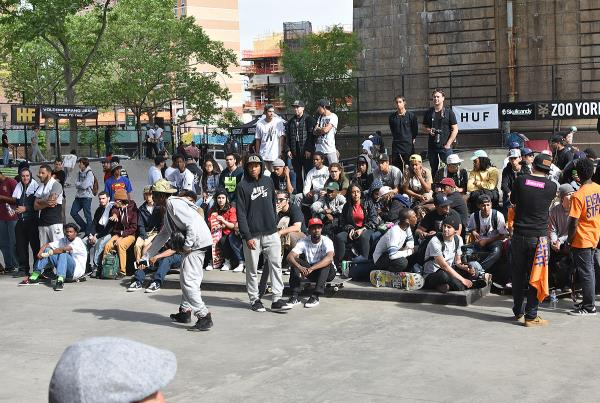 Harold Hunter Day X - Crowd Double Set