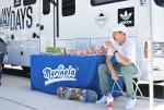 The Boardr Am at NYC winner, Jake Ilardi, was holding down the Marinela tent today.