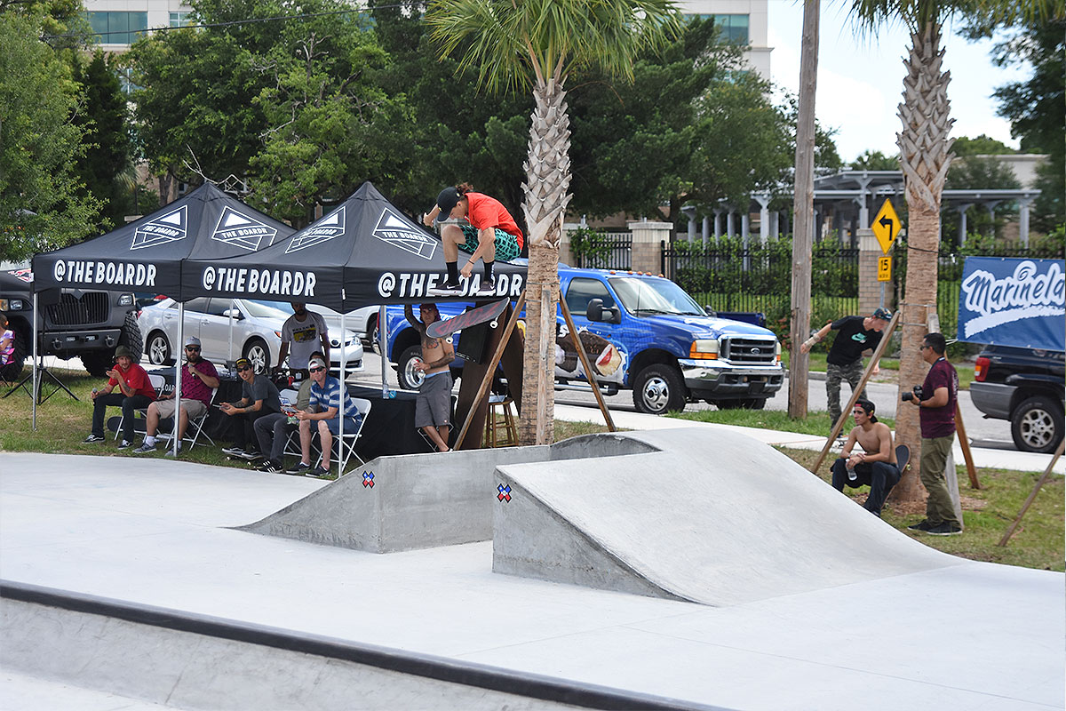 The Boardr Am at Tampa - Kickflip