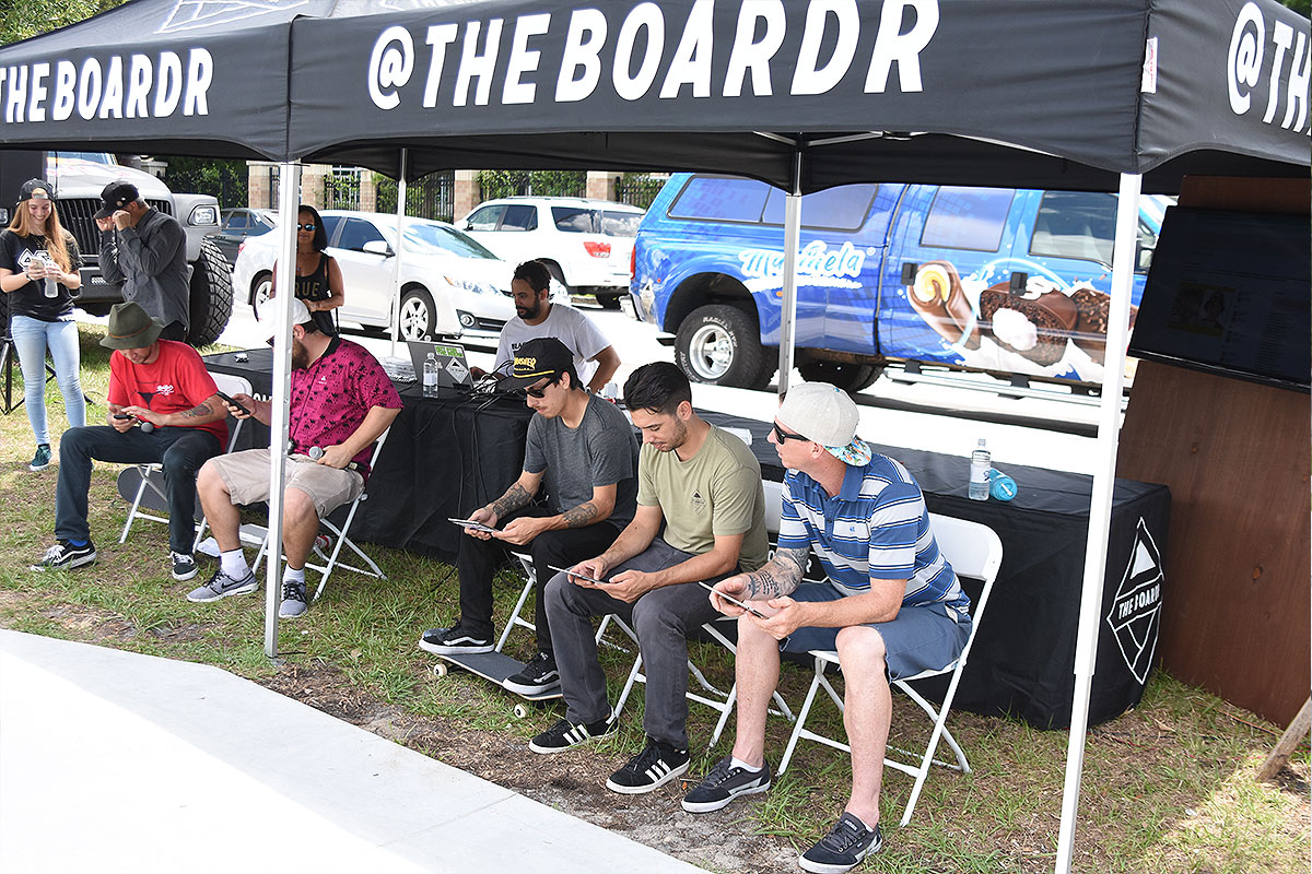 The Boardr Am at Tampa - Judges