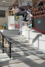 Luan Oliveira killed it as usual. That's a switch 360 flip.