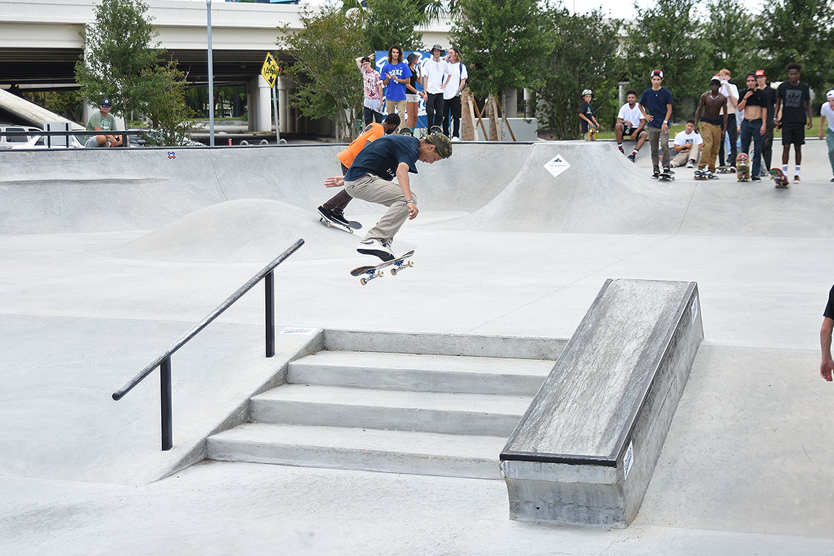 The Boardr Am at Tampa - Best Trick