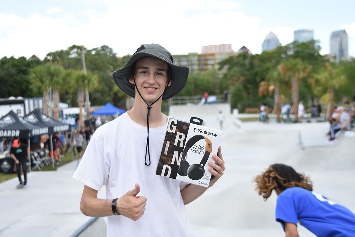 The Boardr Am at Tampa - Best Trick Skullcandy