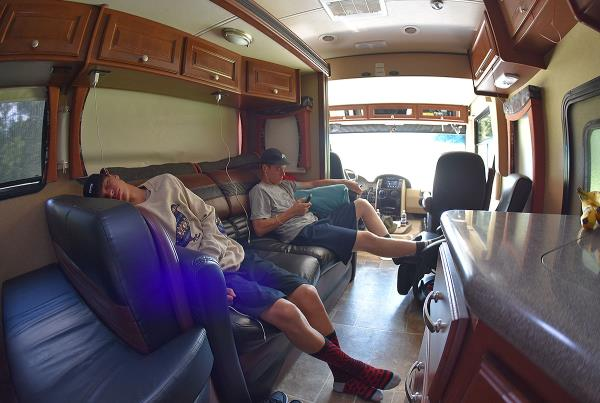The Road to X Games - Sleeping