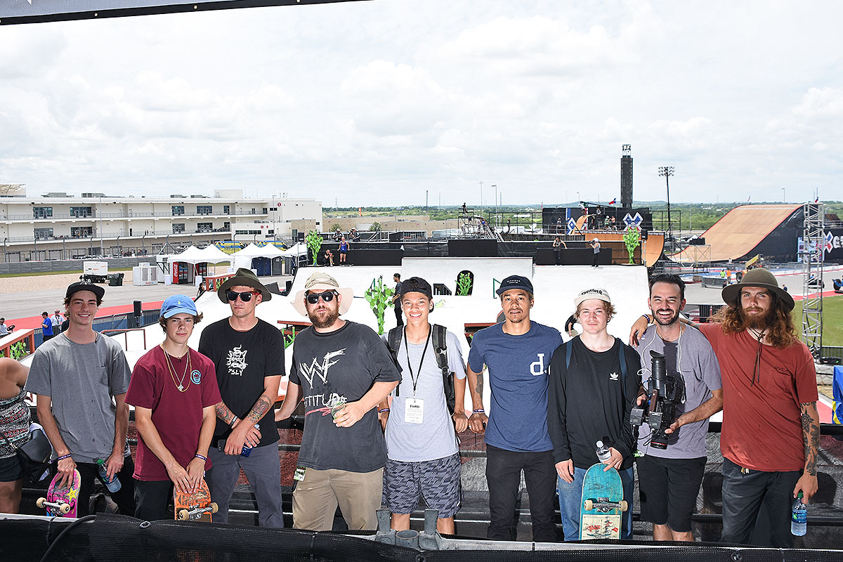 The Boardr Am Season Finals at X Games - The Crew