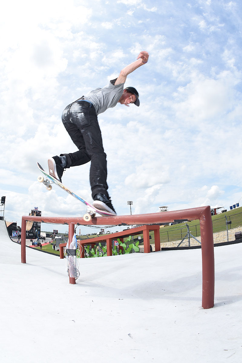 The Boardr Am Season Finals at X Games - Ashy Larry