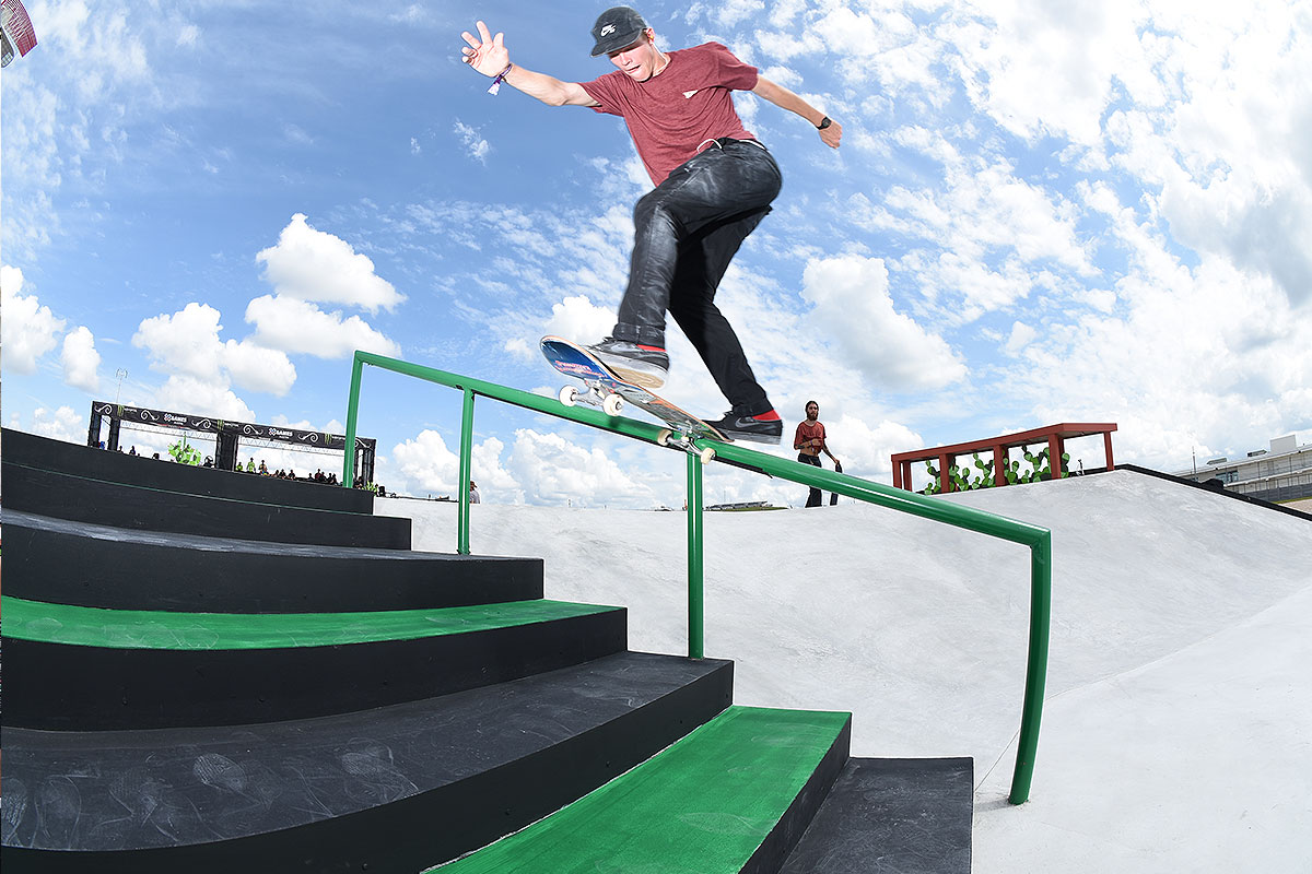 The Boardr Am Season Finals at X Games - Jake BSTS
