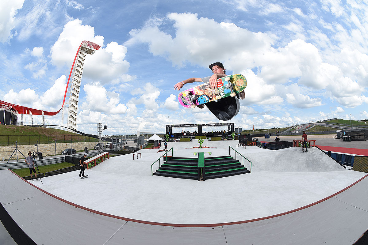 The Boardr Am Season Finals at X Games - In the Clouds