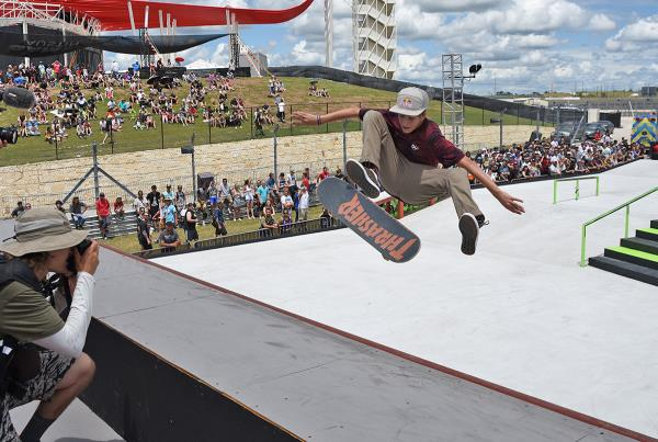 The Boardr Am Season Finals at X Games - FS Flip Quarter