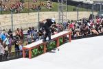 Alex Midler, backside tailslide.