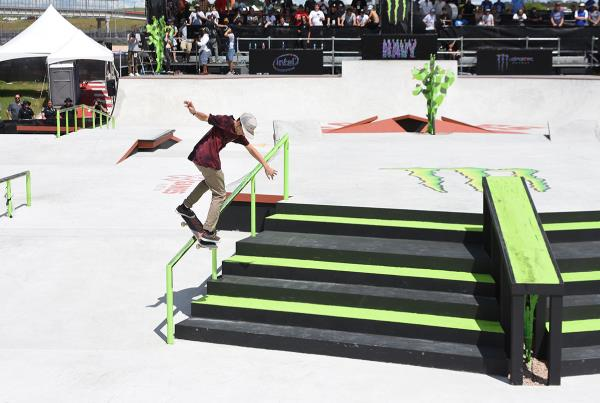 The Boardr Am Season Finals at X Games - Swich Back Lip