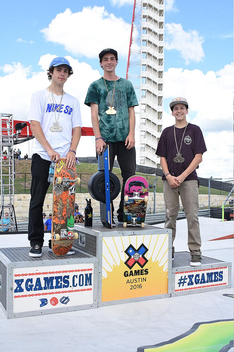 The Boardr Am Season Finals at X Games - Medals