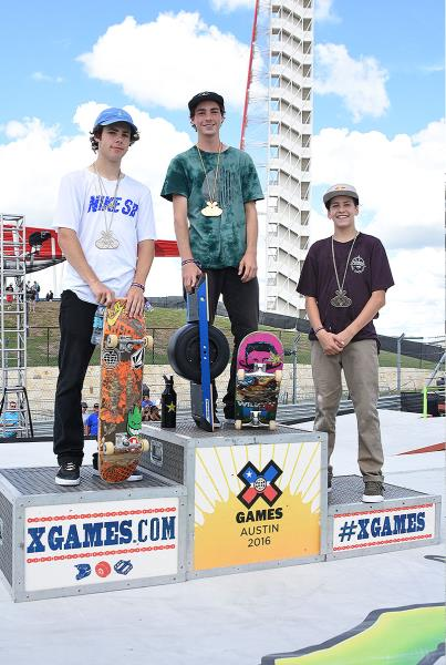The Boardr Am Season Finals at X Games - Medals
