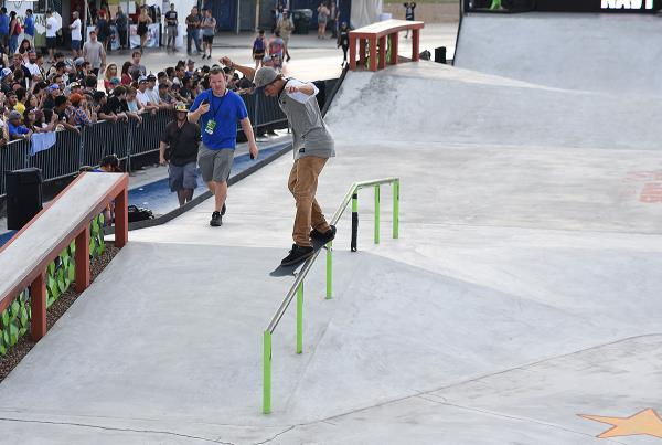 The Boardr Am Season Finals at X Games - Back Smith to First