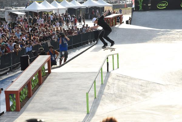 The Boardr Am Season Finals at X Games - Nollie Flip In