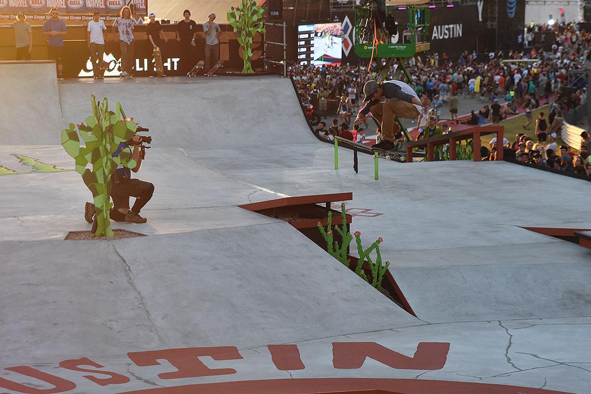 The Boardr Am Season Finals at X Games - Hardflip