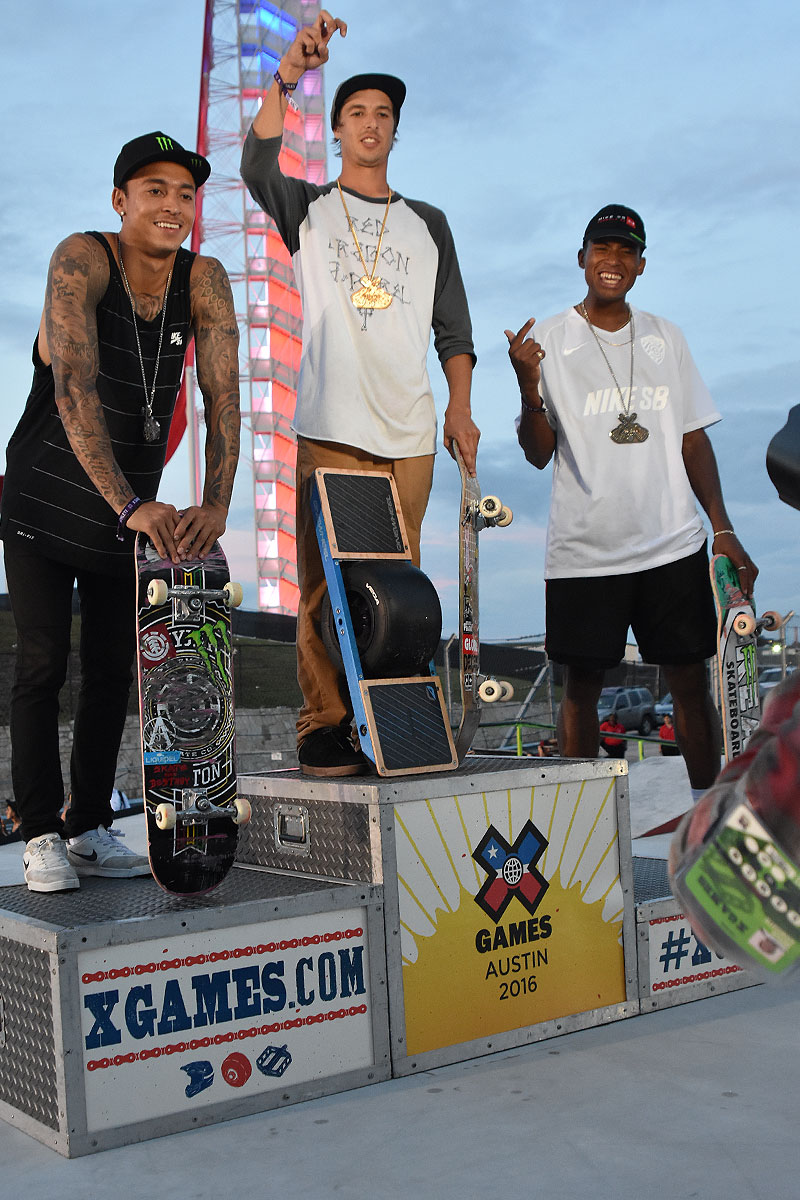 The Boardr Am Season Finals at X Games - Pro Medals