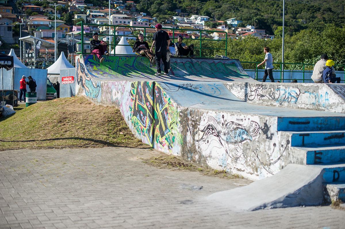 Vans Pro Skate Park Series Florianopolis - The Local Park