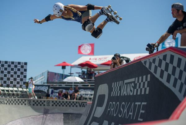 Vans Pro Skate Park Series at Huntington - Backside Air Jordyn
