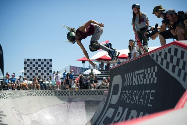 Vans Pro Skate Park Series at Huntington - Backside Ollie