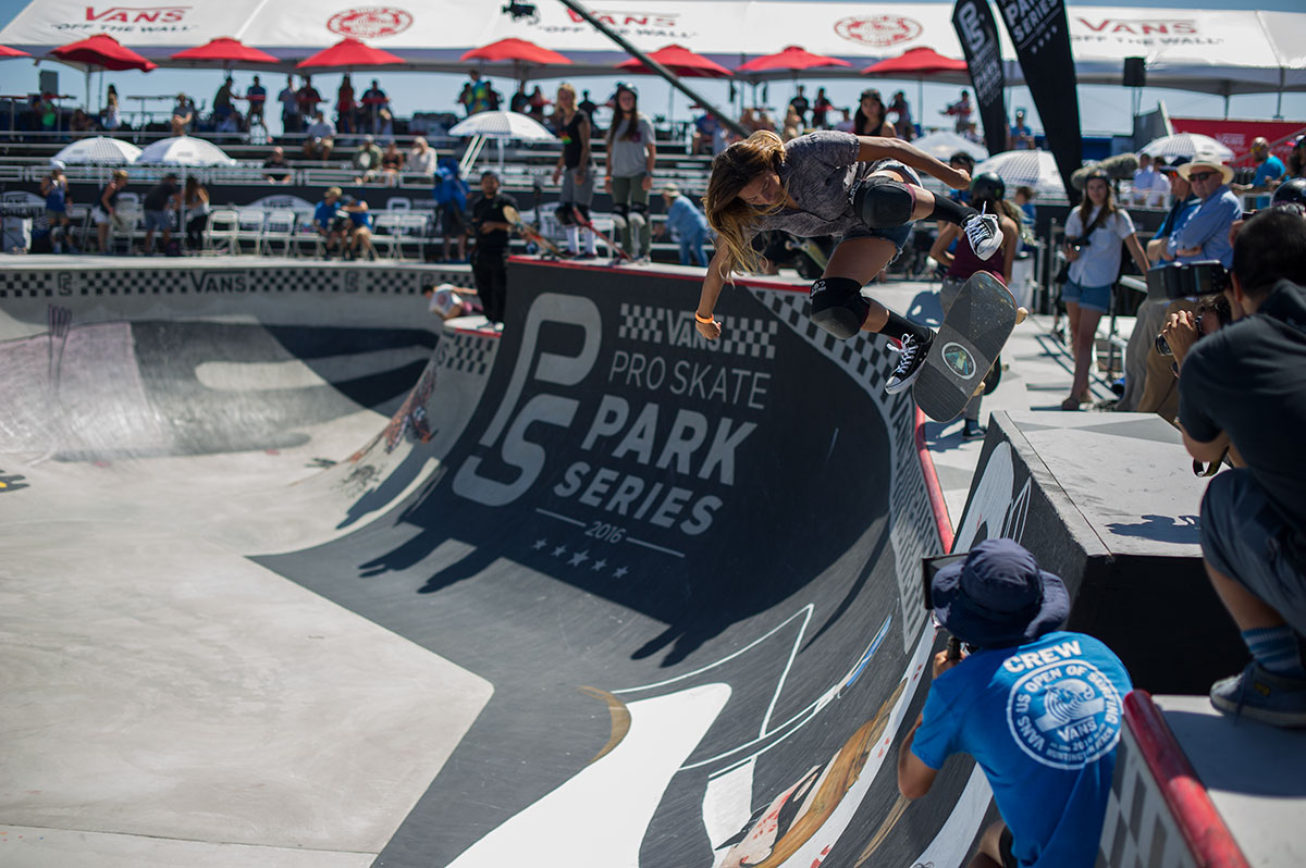 Vans Pro Skate Park Series at Huntington - Backside Flip Pivot