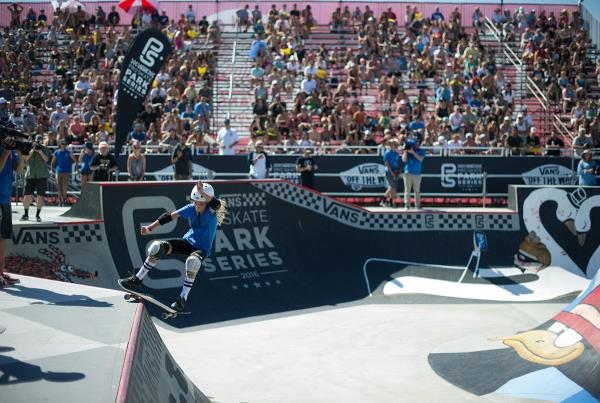 Vans Pro Skate Park Series at Huntington - Girls Crowd