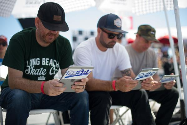 Vans Pro Skate Park Series at Huntington - Judges