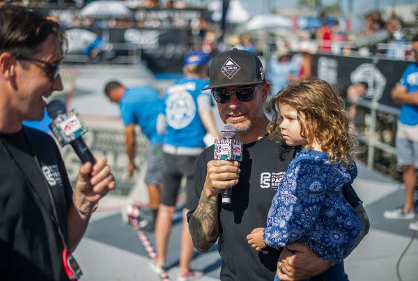 Vans Pro Skate Park Series at Huntington - Ryan and Sloane