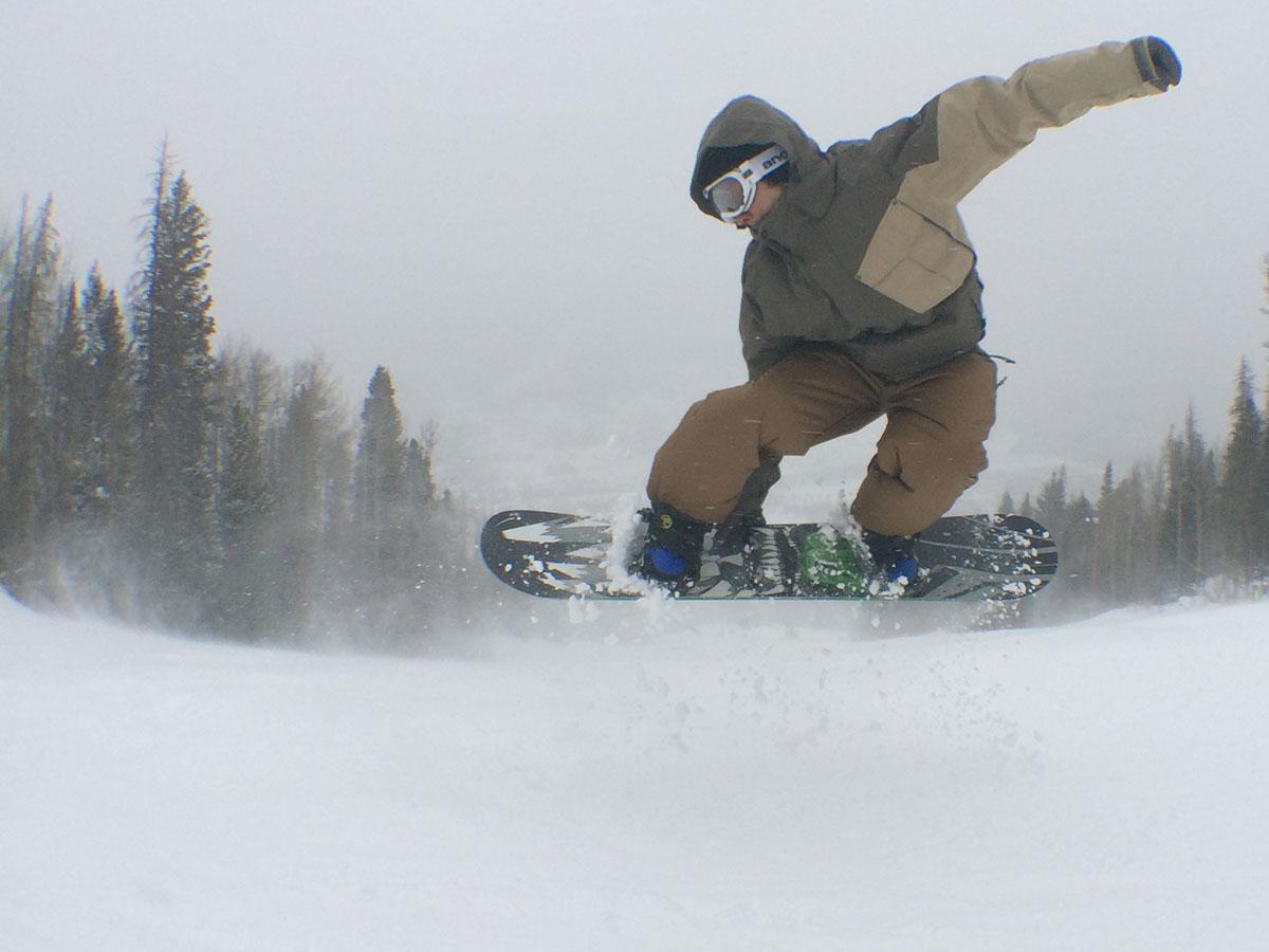 Zumiez 100k Snowboarding Rob Meronek Meron Grab