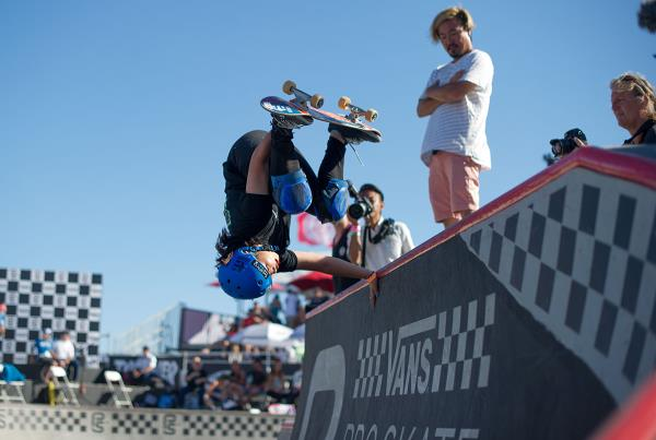 Vans Pro Skate Park Series at Huntington - Invert