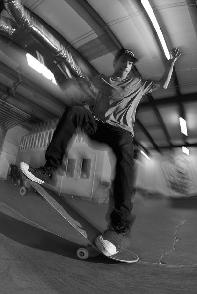 Friday at The Boardr Indoor Skateboarding Facility - Abdias NG