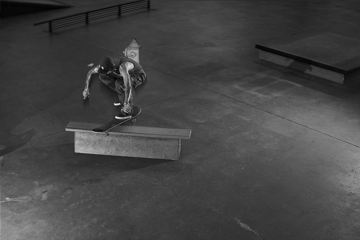 Friday at The Boardr Indoor Skateboarding Facility - Robbie