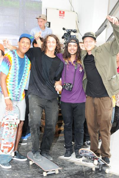 Ishod, Evan, Porpe, and Wes