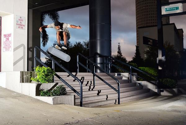Chaz in the Streets - 360 Flip
