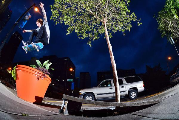 Chaz in the Streets - Jata Heelflip