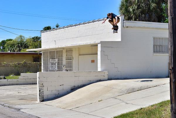 Chaz in the Streets - Church Kickflip