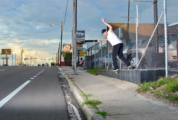 Chaz in the Streets - PJ Back Lip