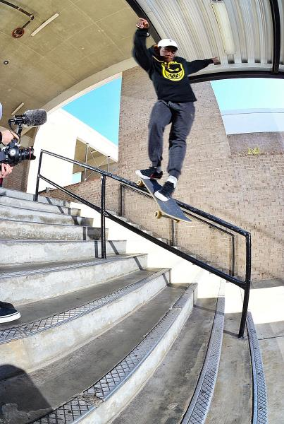 Chaz in the Streets - Zion Back Smith Rail