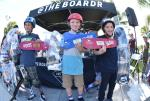 Noah Nagaro, Myles Gentry, and Nash Barfield  took home the top 3 spots for the Street 9 and Under Division.