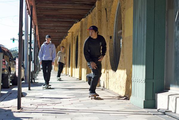Skateboarding Downtown Tampa and Ybor - Hexagon Tiles