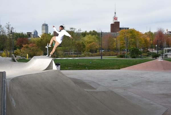 Innoskate Skateboarding at MIT - Front Blunt