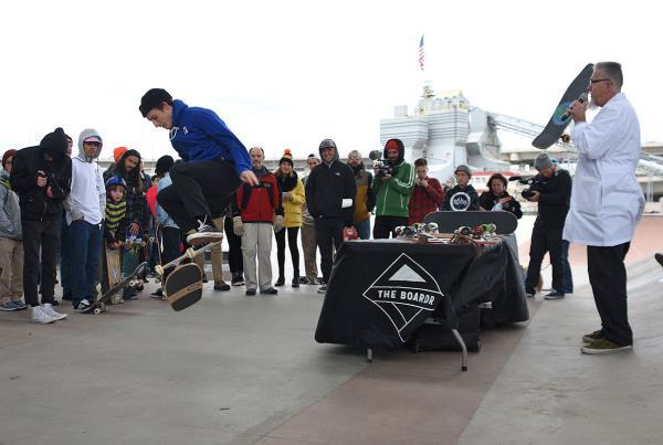 Innoskate Skateboarding at MIT - Old Boards