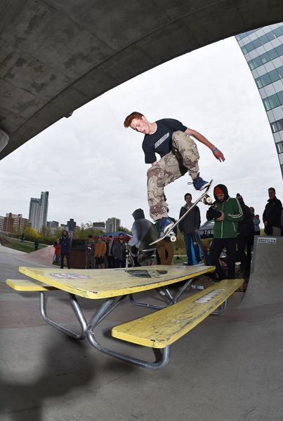 Innoskate Skateboarding at MIT - Front 3