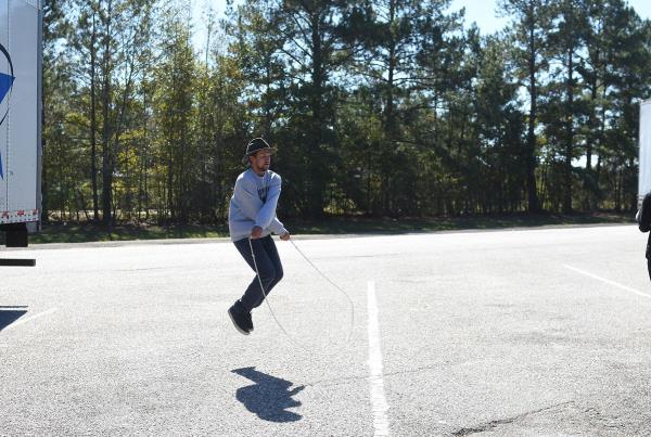 Road Trip to Boston - Jump Rope Tricks