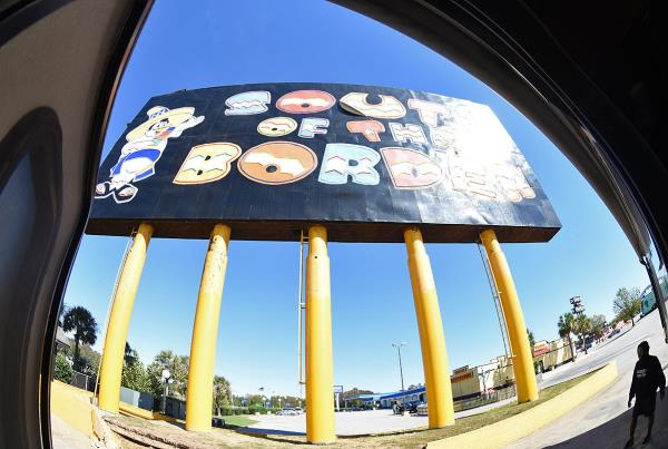 Road Trip to Boston - South of the Border