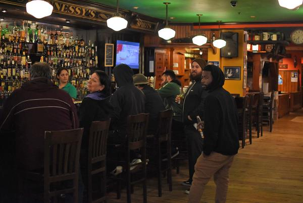Road Trip to Boston - Boston Pub